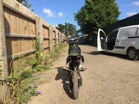 WPB Welsh pitbike 160cc race tuned