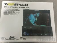 "DV740 7"" touch screen DVD- car radio MP3 DVD"