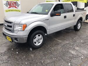 2014 Ford F-150 XLT, Crew Cab, Steering Wheel Controls, 4x4