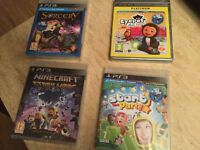 Brand new games - 4 games never opened - sealed boxes