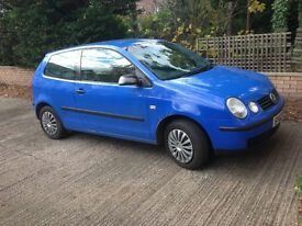 Vw polo 2002plate ono good runner no mechanical problems nice wee car 1.9 SDI