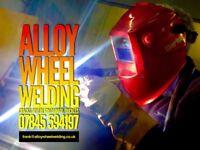 ALLOY WHEEL WELDING/ CRACKS/ SEVERE RIM DAMAGE/ BUCKLES / TIG WELDED BY PROFESSIONAL