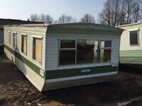 Caravan - Site Office - 28 x 9.6 ft with electric sockets & lighting