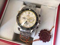 New Swiss Omega SeaMaster Chronograph Watch