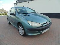 2002 Peugeot 206 1.4 HDI * Turbo Diesel * Ultra Reliable * MOT * 70MPG * £30 Road Tax *
