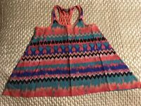 Girls multi coloured top AGE 6 years