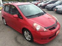 2007 Honda Fit Sport / AUTOAIR / LOADED / ALLOYS