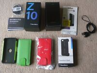 Blackberry Z10 Smart Phone 16gb boxed £45.00 ono