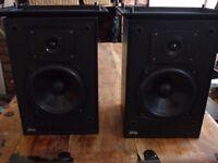 JPw Black speakers pair 70W