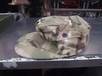 MTP Camouflage British Military Army - Combat Cap - fishing/camping/camo cap - 54cm