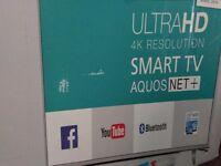 "Sharp 49"" smart tv"