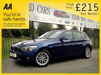 BMW 1 SERIES 1.6 116I SE 5d AUTO 135 BHP Apply for finance Online today! (blue) 2014