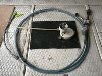 Boat teleflex steering cable & helm