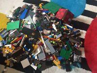 10Kg of genuine Lego City pieces