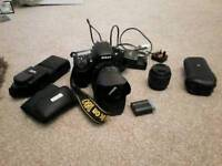 Genuine UK purchased Nikon D800 bundle