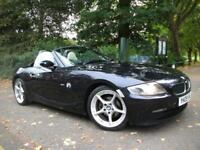 BMW Z4 2.0i Sport 2dr FULL LEATHER LOW MILEAGE CONVERTIBLE FULL WARRANTY (blue) 2009