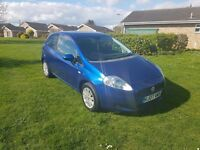 FIAT PUNTO DYNAMIC 1.2 petrol, manual. BRAND NEW MOT! ONLY 54.130 MILES FROM NEW!