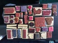 Christmas Craft stamps .
