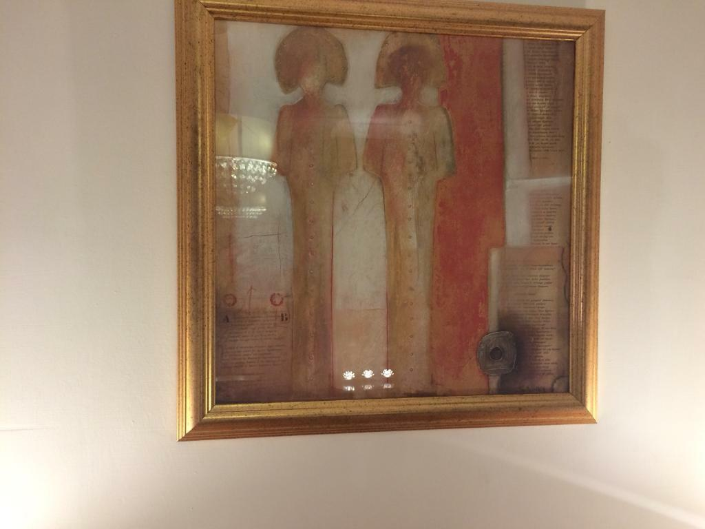 **** NOW REDUCED **** Picture - attractive contemporary framed print