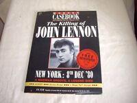 The Killing of John Lennon Murder Casebook + Free Newspaper of the Day 1990