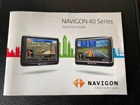Navigon Premium 40 Sat Nav