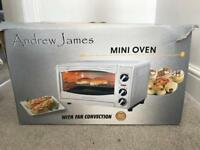 Andrew James Mini Oven - with fan convection