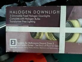 Halogen downlights