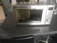 20L SILVER DIGITAL MICROWAVE WITH STAINLESS STEEL FRONT RHM2009S-G