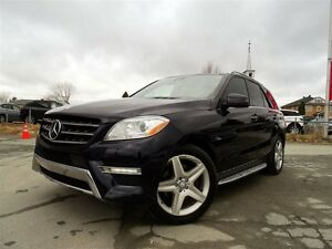 2012 Mercedes-Benz M-Class ML350 BLUETEC + DIESEL + AMG + DVD +