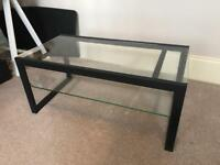 Glass Coffee Table TV Stand