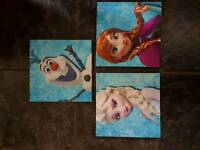 Disney Frozen 3 Piece Canvas