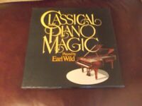 Box set of Classical piano music played by Earl Wild