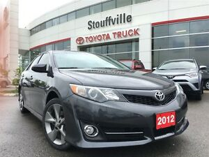 2012 Toyota Camry SE - Leather, Moonroof, Powerful V6