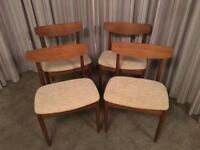G Plan dining chairs / retro design