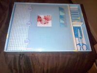 Blue Scrap book kit prefer pick up brand new