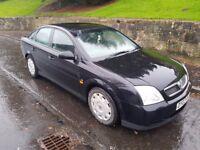 Black Vauxhall vectra 1.8..petrol ..£550