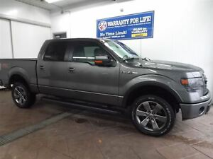 2014 Ford F-150 FX4 4X4 LEATHER  SUPERCREW SUNROOF NAV 5.0L