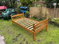 Single bed frame(delivery available)