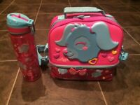 SMIGGLE LUNCH BAG & MATCHING WATER BOTTLE