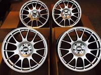 "Brand new 18"" bbs CH style Alloy wheels 5x120 bmw"