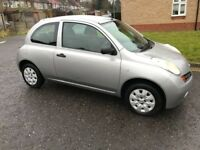 2004 Nissan Micra 1.2 16v S 3dr Manual @07445775115