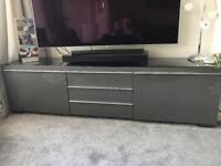 Grey IKEA TV Cabinet