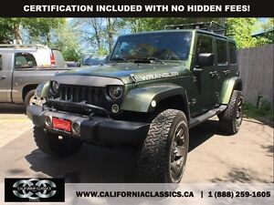 2008 Jeep Wrangler UNLIMITED SAHARA - 4X4