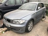 BMW 1 Series 2.0 118i SE 5dr ((NO MOT+ NO REAR DIFF+CAN BE USED FOR SPARE AND REPAIRS))