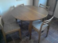 Used Table & Chairs