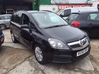 2007 VAUXHALL ZAFIRA LIFE CDTI 120, 7 SEATER, 2 KEYS, HPI CLEAR, GENUINE 61K MILES FINANCE AVAILABLE
