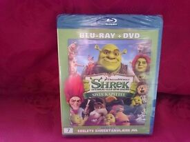 Shrek - The final chapter DVD and BluRay 2-disc set - new