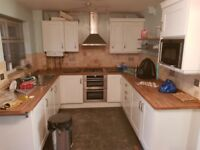 kitchen storage and boiler in very good condition.