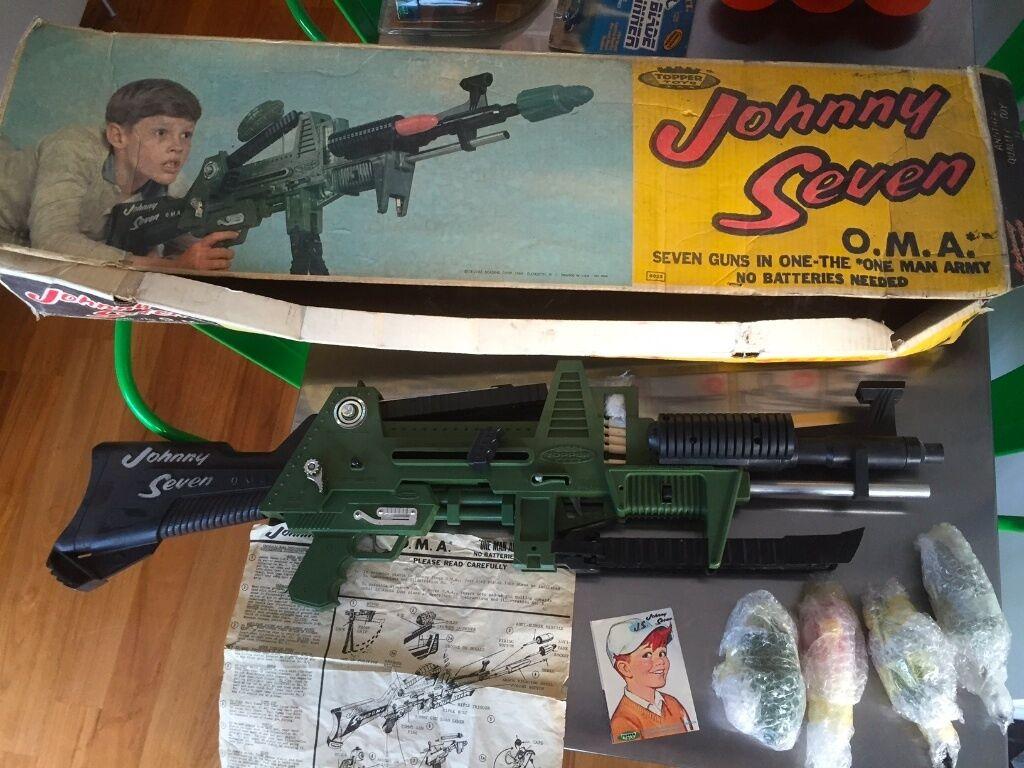 M M Toys Sale : For sale johnny seven o m a gun topper toys