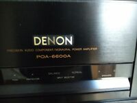 Denon POA-6600 monoblocks power amplifiers
